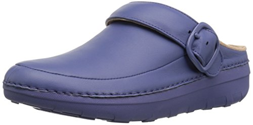FitFlop Women's Gogh Pro Superlight Medical Professional Shoe, Indian Blue, 7 M US