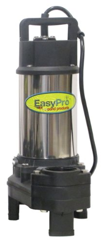 TH400 EasyPro 5100gph 115 Volt Stainless Steel Submersible Waterfall and Stream Pump by EasyPro+