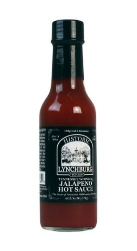 Historic Lychburg Tennessee Whiskey Jalapeno Hot Sauce