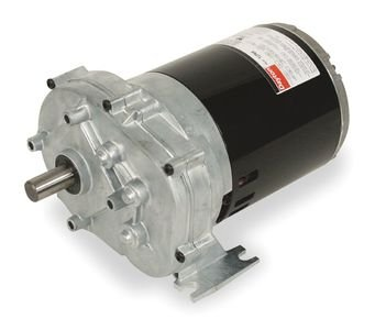 Dayton AC Parallel Shaft Gear Motor Model 1LPP3, Degrees_Fahrenheit, to Volts, Amps, (