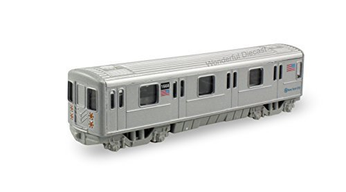 Diecast Model Metro Subway Train 7