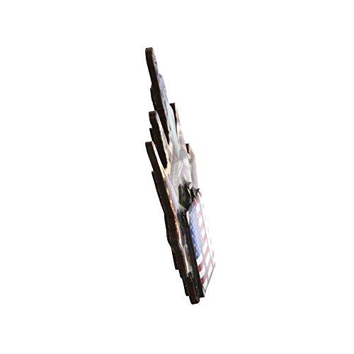 HiMango Wooden refrigerator Magnets 3D USA (1 Pieces) (3021)