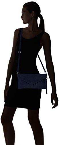 Girly HandBags Rebecca - Bolso Mujer Azul - azul (Navy)