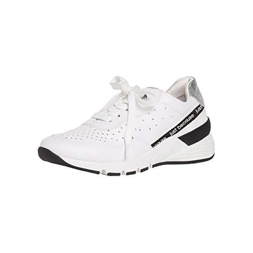chollos oferta descuentos barato Marco Tozzi 2 2 23737 34 Zapatillas para Mujer Blanco White Combi 197 37 EU