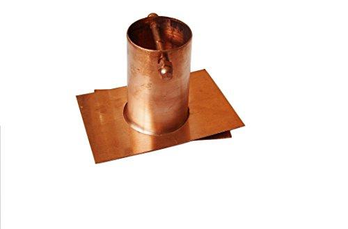 UPC 647356392436, U-nitt Pure Copper Gutter Installer / Adapter for Rain Chain: #975
