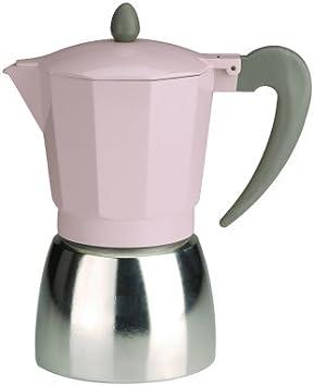 Typhoon 9 Taza cafetera de Espresso Vintage, Color Rosa: Amazon.es ...