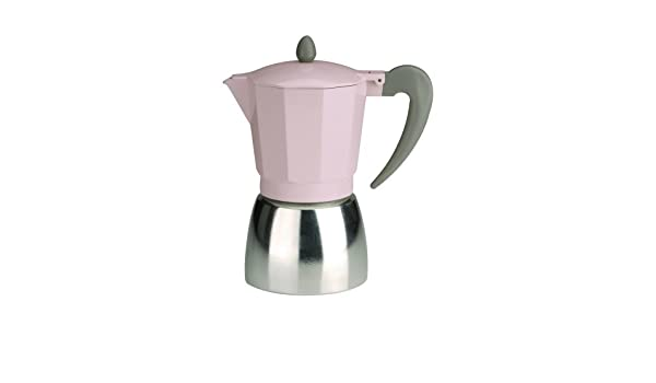 Typhoon 9 Taza cafetera de Espresso Vintage, Color Rosa: Amazon.es ...