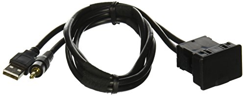 Metra AX-USB-35EXT 3.5mm iPod to USB Extension Cable - 27-Inch - Black