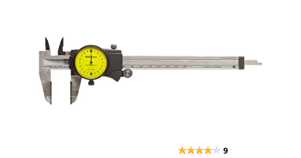 Dial Caliper 0-6 Inch Double Shock Proof Stainless Steel Body SA-E Measuring Z73