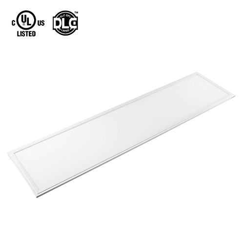 uxcell LED Panel 1x4 ft Dimmable Edge-Lit Flat 40w Square Ceiling Panel Down Lights,5000k -2 Packs, UL Listed, DLC-Qualified by uxcell (Image #1)