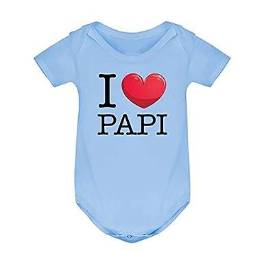 sous v/êtement Fantaisie Enfant Ma Petite Vitrine Body Coton Humour b/éb/é I Love Papi