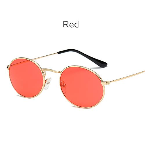 (Small Round Sunglasses Women Purple Pink Sun Glasses)