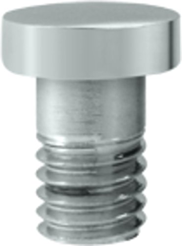 Deltana Solid Brass Hinge Extended Button Tip (Set of 10) ()