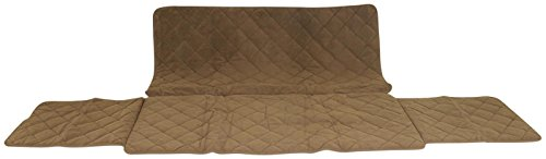 CPC Diamond Quilted Couch Protector, 72-Inch, Chocolate