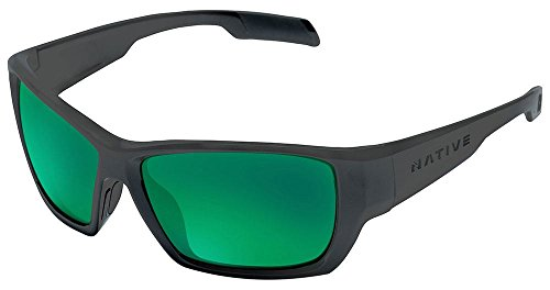 Native Eyewear Ward Polarized Sunglasses, Matte Black - Summit Sunglasses