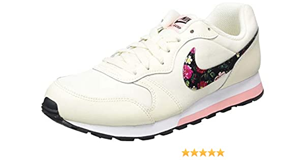 Nike MD Runner 2 Vintage Floral, Unisex Niños, Rosa (Pale Ivory/Black/Pink Tint/Whi 100), 36.5 EU: Amazon.es: Zapatos y complementos
