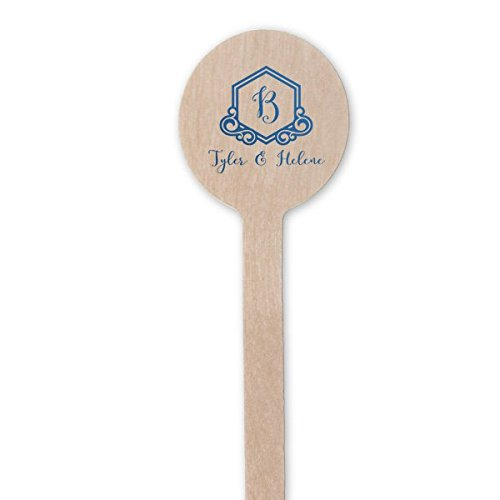 Personalized Wooden Stir Sticks, Custom name Drink Stirrers, Personalized Swizzle Sticks, Bar 234