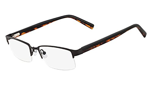 254857ccd3 Image Unavailable. Image not available for. Color  Nautica Eyeglasses N7229  300 Black 53 18 140
