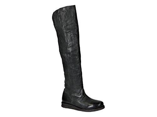 VIC MATIÉ Damen 1H6915D730B8B Schwarz Leder Stiefel