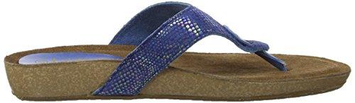 De Lonzo Lotus De Femmes Sandales Bleu T Impression Des bar bleu FwS6tYq