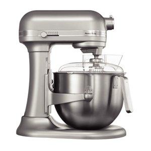Kitchenaid 5KSM7591XBSM Planetary Food Mixer, 6.9 L, Silver Metallic