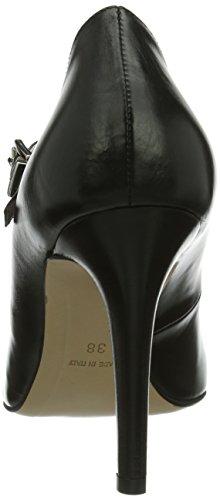 Pumps Nero Schwarz Shoes tacco Scarpe Damen34 Schwarz col geschlossen donna 42 Evita 56HZx4qH