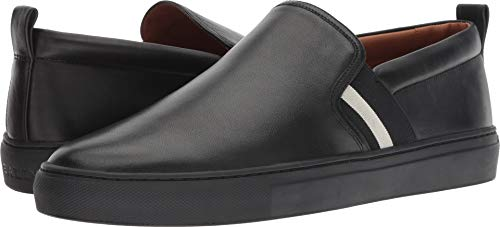 Bally Leather Loafers - BALLY  Men's Herald-New-200 Black 7.5 D UK