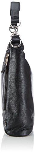 BREE Collection Brigitte 6, Elephant, Grained Backpack, Borsa Zaino da donna Nero (Black 900)