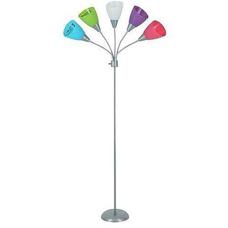 Popular Your Zone 5-light Floor Lamp - Pink - - Amazon.com ZR47
