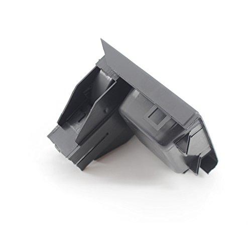 XZANTE Boite Avant Noire pour E46 Serie 3 Stockage de la Console du Centre Automobile 51168217957