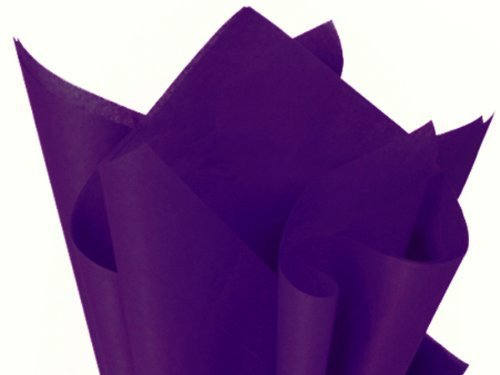 Plum Tissue Paper - Brand New PURPLE Bulk Tissue Paper 15