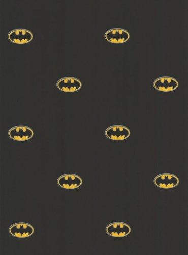 Amazon ブラックバットマンロゴdc Comicsアクセント装飾壁紙