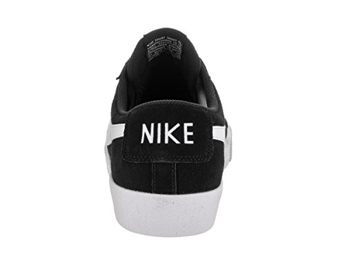 NikeBlazer Zoom Low - Sandalias con cuña hombre negro y blanco