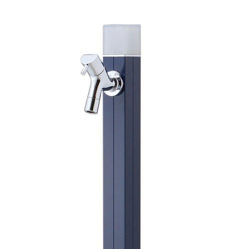 水栓柱 蛇口付 アクアルージュ アイス1.0m 不凍水栓柱 オンリーワン TK3-DKN ネイビー B0793MCM3B