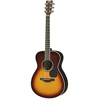 yamaha l series ls16 ls16 concert size acoustic electric guitar with gig bag brown. Black Bedroom Furniture Sets. Home Design Ideas
