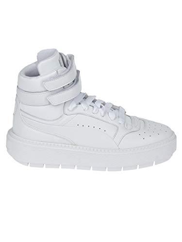 Trace White Platform Sneakers Bianca Alta qB11PC