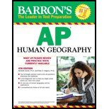 Barron's Ap Human Geography - Text (4th, 12) by PhD, Meredith Marsh - PhD, Peter S Alagona [Paperback (2012)]