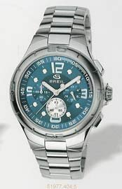 Breil Ace Chronograph Blue Dial Stainless Steel Bracelet Gents Watch 2519774045