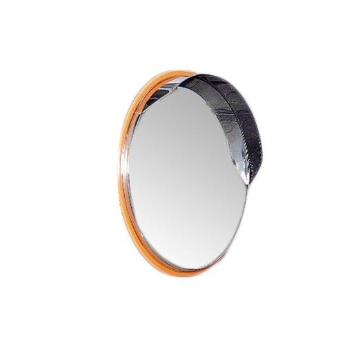ホップ オールステンレス製 カーブミラー ガレージミラー SUSミラー 丸型43.3m φ433 SPS-丸45 日本製 (オレンジ) B01MXE6Z65 17010  オレンジ