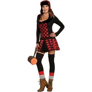 [Lumber Jill Adult Halloween Costume (OneSize (Standard))] (Jack And Jill Costumes)