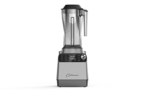 Optimum Vacuum Sealed Auto High-Speed Blender VAC2 with BPA-Free Components, Quiet Blender, Virtually No Foam, Heavy Duty Motor 2238W, Tamper Tool, 10 years Warranty (Silver)