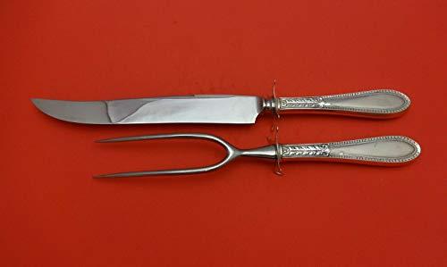 Edgeworth by Gorham Sterling Silver Roast Carving Set 2pc HHWS (Knife & Fork)
