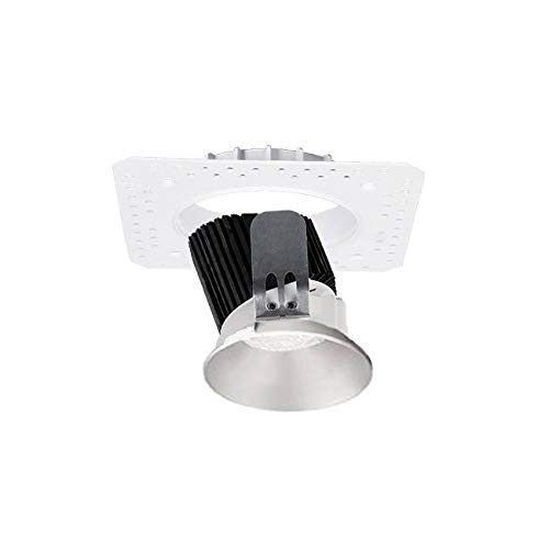 WAC Lighting R3ARWL-A930-HZ Aether Round Wall Wash Invisible Trim with LED Light Engine Trim & LED Asymmetrical Beam Haze