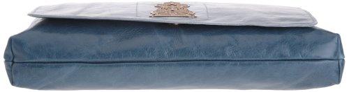 Sous les Pavés Rasta Rocket - Bolso de asas para mujer Azul (Blau (Bleu))