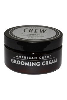 American Crew Classic Grooming Cream for Men, High Shine High Hold - 3.0 Ounce (Pack of 2 Jars)