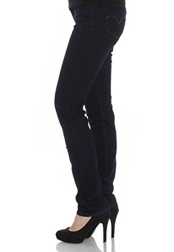 Levis Jeans Women 712 SLIM 18884-0025 Lone Wolf, Hosengröße:28/34