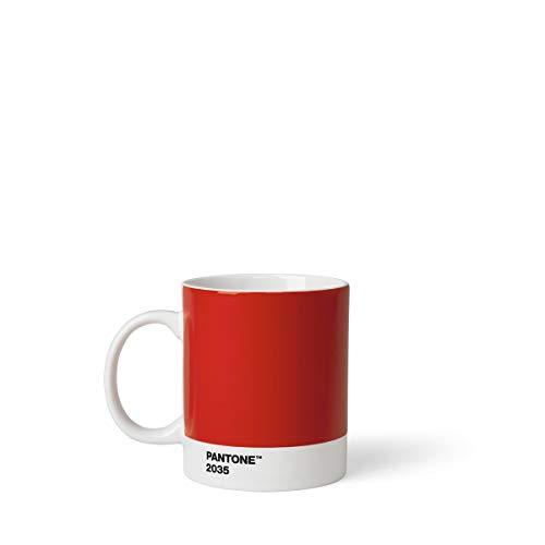 Pantone Porcelain Mugs 375 ml, Porcelain, Red 2035, 8.4 x 8.4 x 12.1 cm, 101032035