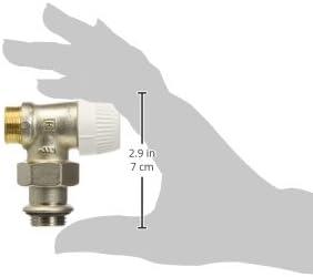 100 X 78 X 44 Cromo Honeywell V305ESLGB10 Valvola per Radiatore Termostatizzabile a Squadra