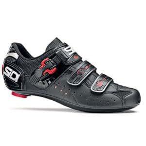 Sidi Genius 5 Bike Shoe - Men's Black, 46.0/Wide/Mega