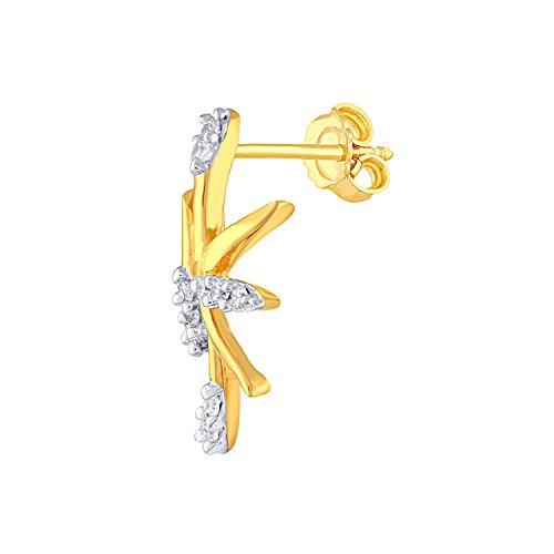 Giantti Diamant Pendentif Femme Collier (0.102CT, qualité HSI, Gh-colour)